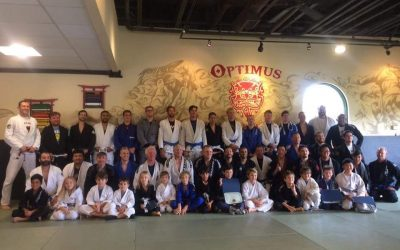 TEAM OPTIMUS CELEBRATES COMMITMENT & DISCIPLINE AT THE SUMMER BELT & STRIPE PROMOTION CEREMONY