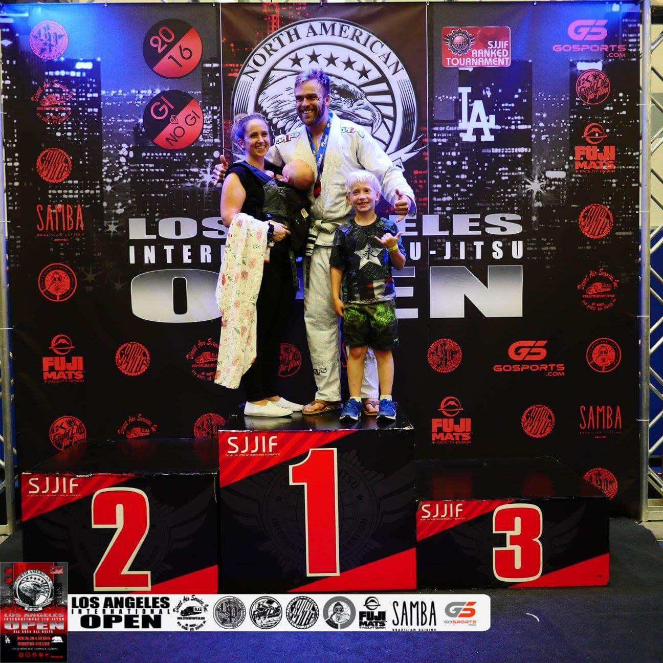 Strong Performance At Los Angeles Open Jiu-Jitsu Tournament