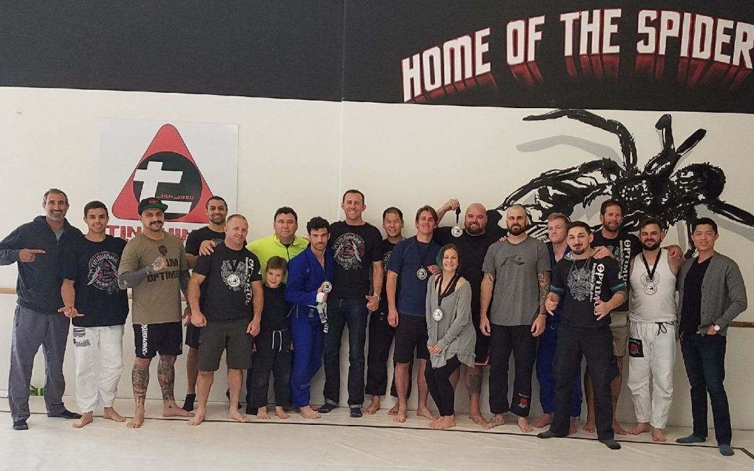Laguna Niguel Jiu Jitsu Team Showed Up Strong For The Tinguinha In-House BJJ Tournament